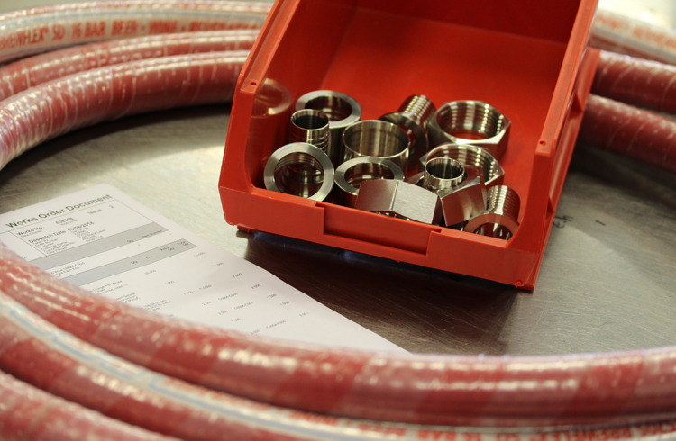 Brewflex® Hose Assemblies » Brewflex® by Flextech